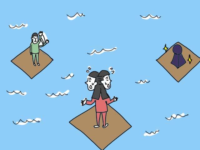 禁断の島 プレイの様子