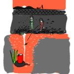 チップ投げ込みボードゲーム「サフラニート」プレイ指南