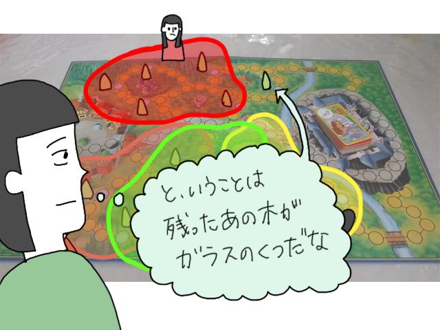ザーガランド ボードゲーム イラスト