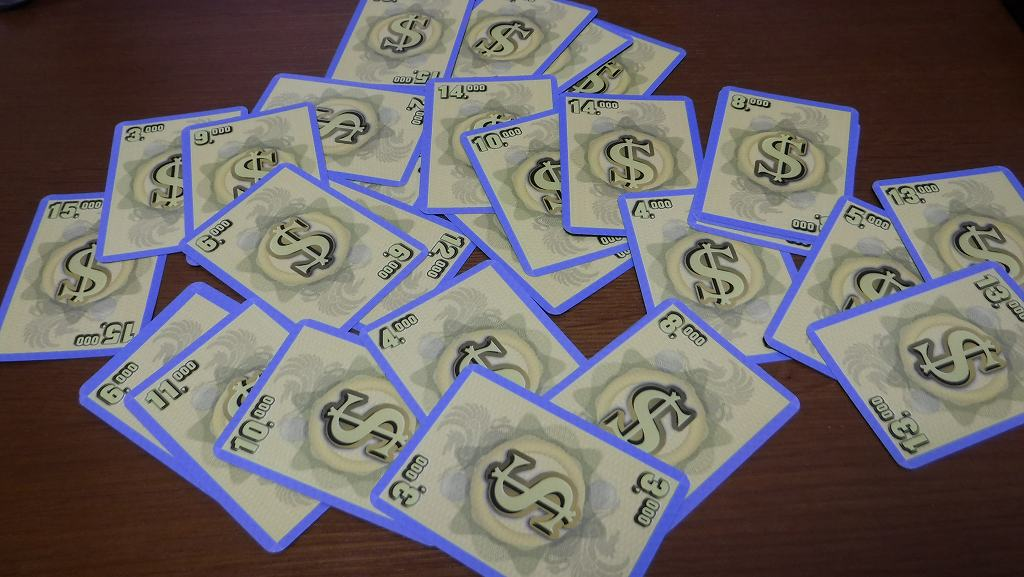 二部構成の傑作競りカードゲーム「フォーセール」ボードゲームレビュー