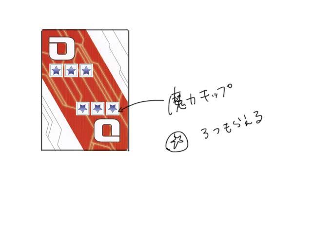 精霊回路ドライブEXE ボードゲーム イラスト