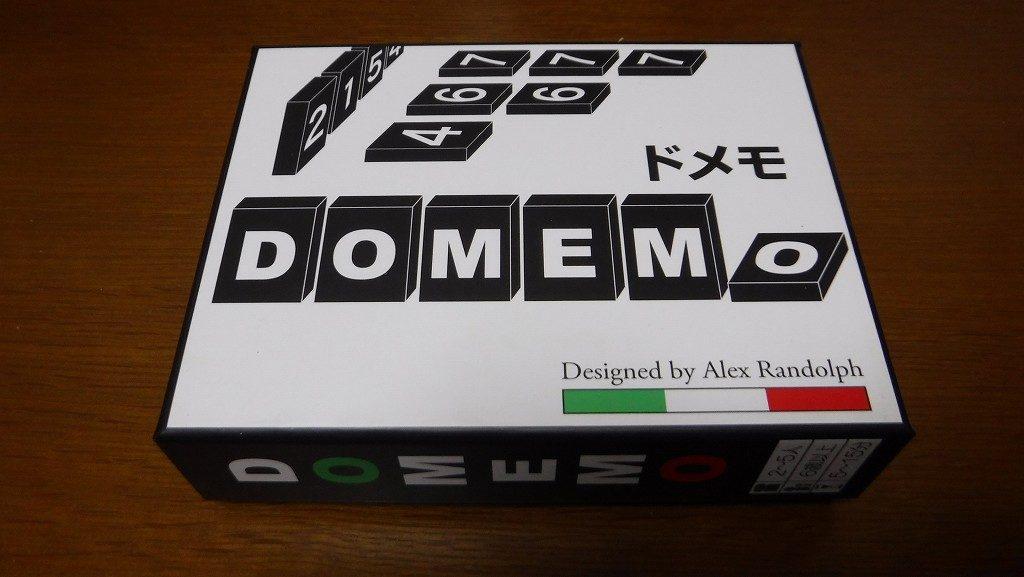 ランドルフの数字推理ゲーム「ドメモ木製」ボードゲームレビュー