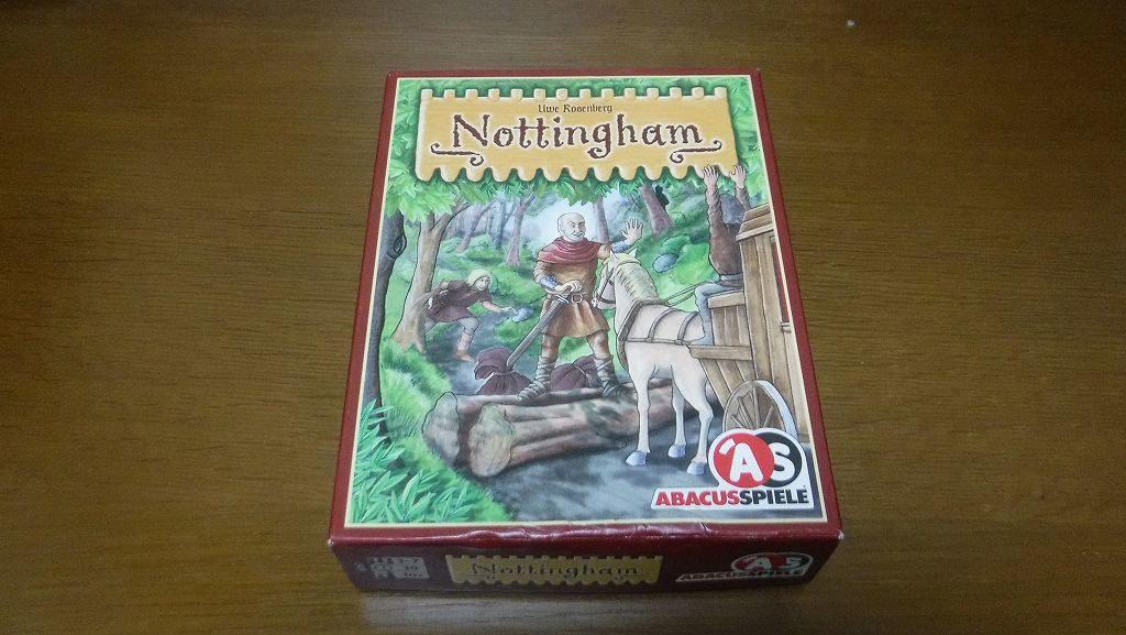 王道に従う?それとも無視する?「ノッティンガム」ボードゲームレビュー