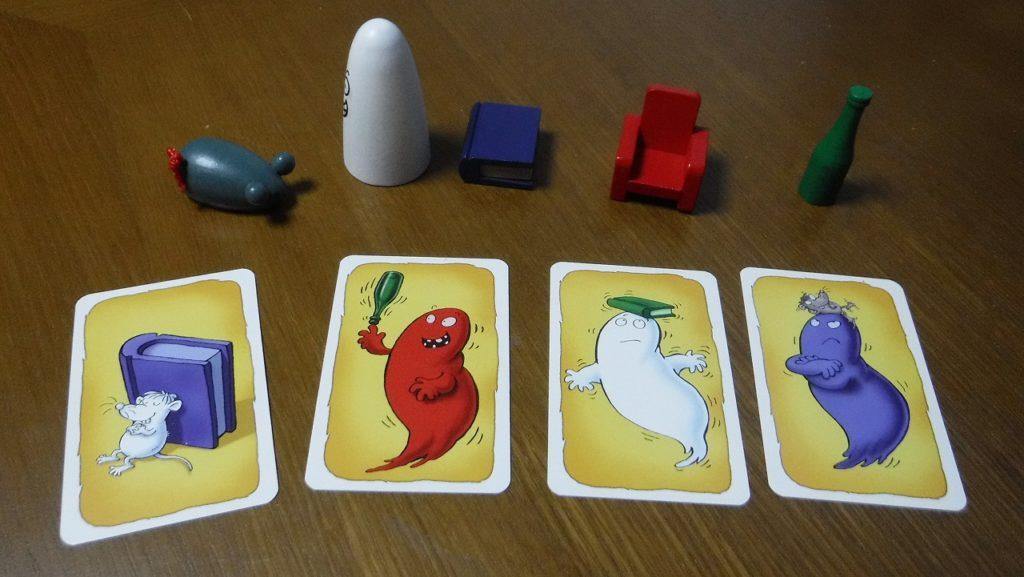 カルタ系ゲームの王道「おばけキャッチ」ボードゲームレビュー