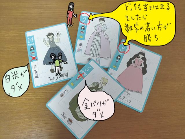 「花嫁が多すぎる」の発売前にリメイク元の「シンデレラが多すぎる」をボードゲームレビュー