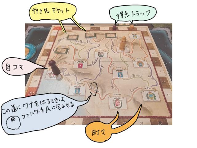 罠をしかけるボードゲーム「ミレグラツィエ」レビュー