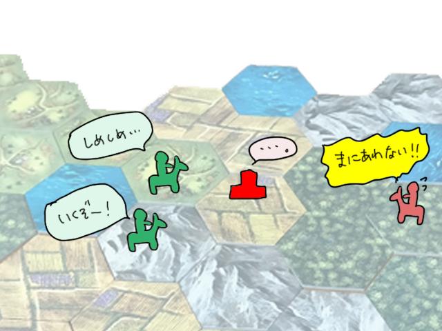 ボードゲームレビュー「バロニィ」マルチ感がきつい?2人プレイも面白いよ!