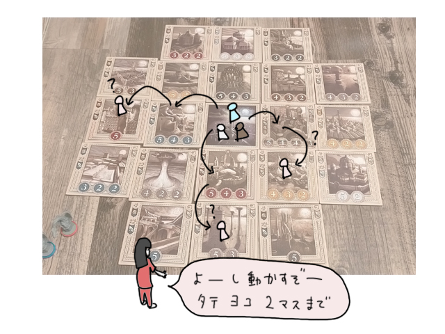 クニツィアの隠れた名作「ブルームーンシティ」ボードゲームレビュー