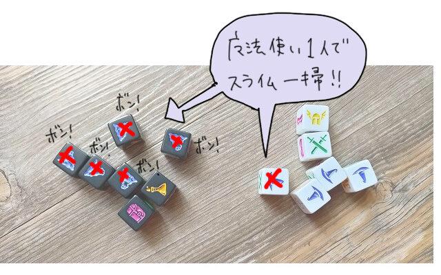 【ボードゲームアリーナのソロプレイおすすめ】「ダンジョンロール」ボードゲームレビュー